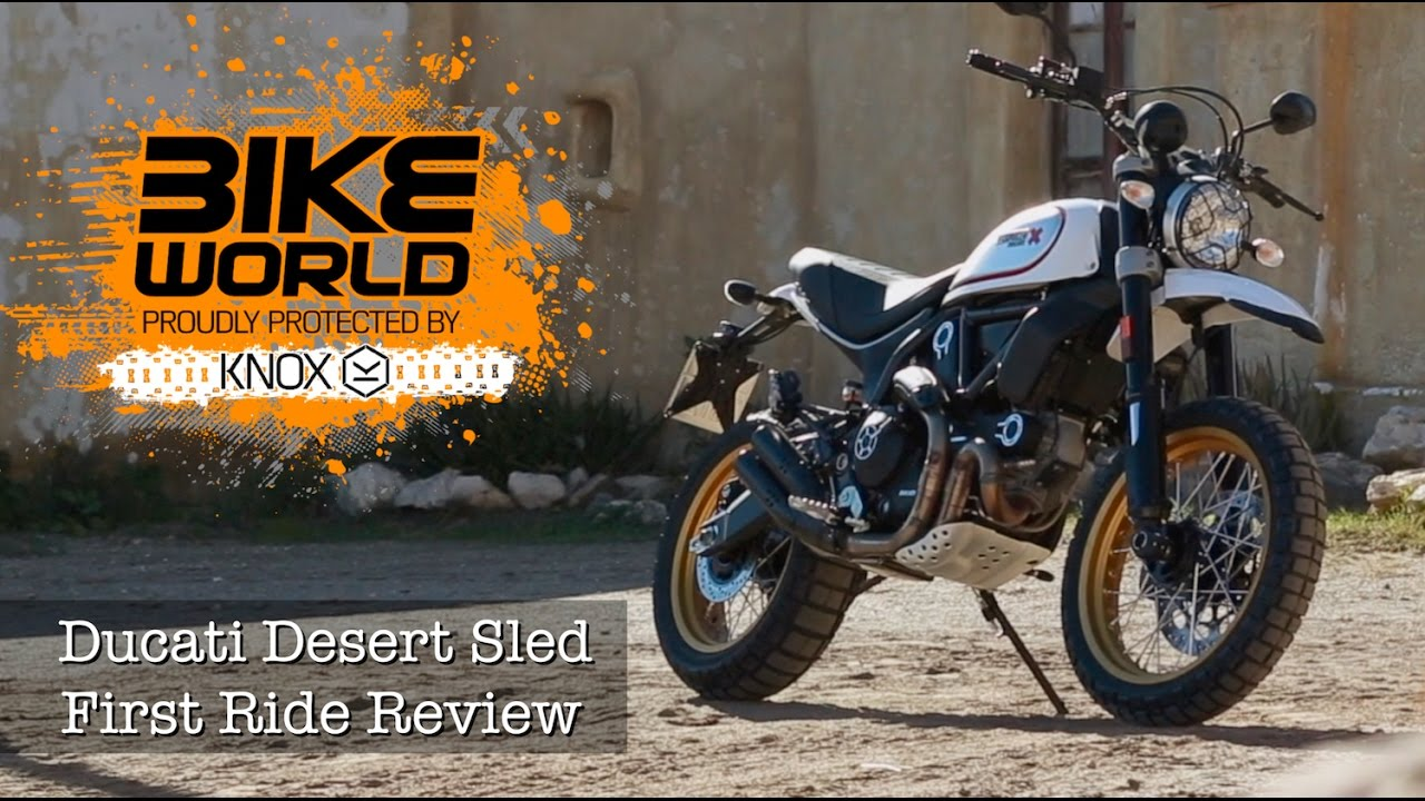 ducati scrambler desert sled launch review youtube. Black Bedroom Furniture Sets. Home Design Ideas