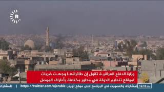 معارك حامية الوطيس في تلعفر وشرق الموصل
