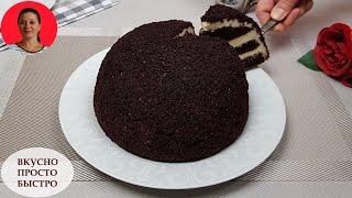 Торт в Микроволновке Обалденный ШОКОЛАДНЫЙ ТОРТ Быстрый Рецепт SUBTITLES