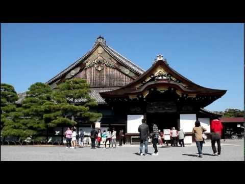 Nijo Castle. Kyoto, Japan 【HD】