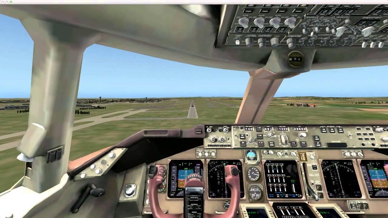 Боинг 747 для x plane 10