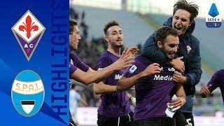 Fiorentina 1-0 Spal | Pezzella la decide nel finale, liberazione viola | Serie A TIM
