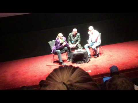 Alan Moore & Mitch Jenkins Q&A at The Barbican, London, 8th May 2016