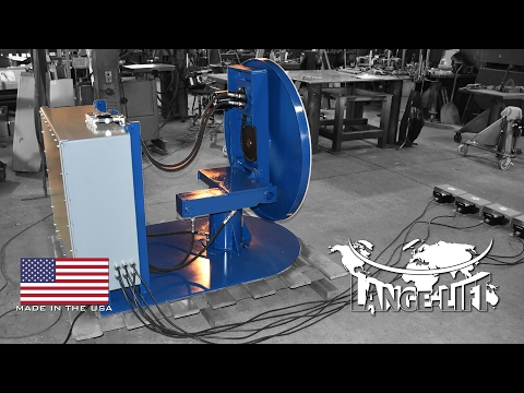 90º Tilting Lift Table | Electric/Hydraulic