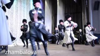 Театр Байкал - крутая лезгинка!