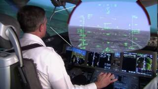 787 Dreamliner - Dual Head Up Displays (HUD)