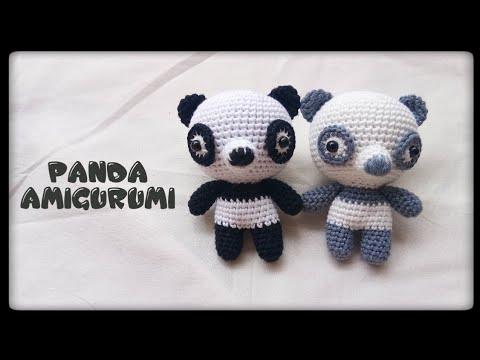 Urso panda amigurumi Coleção bicho bola | artear | ArteJá | 360x480