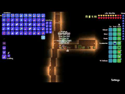 What 838 blocks of silt can get you in Terraria (continuation from 999 blocks)