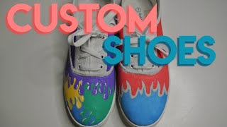 customizing old shoes