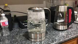 "Breville ""the Crystal Clear"" Glass Electric Kettle BKE595XL"