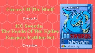 100 Swords: The Heads Of The Hydra Dungeon Builder Set - Overview