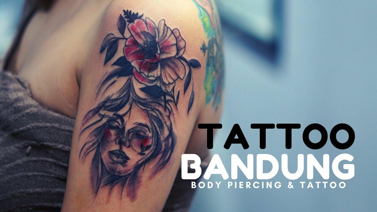 Tato Badut Clown Tattoo Joker Tato Piercing Bandung By Piercing Indonesia Youtube