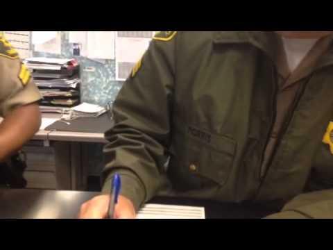 Sgt Morris LASD obstructing an official investigat