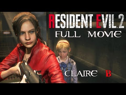 RESIDENT EVIL 2 Remake All Cutscenes (CLAIRE Story B/2nd Run) Game Movie 1080p 60FPS Mp3
