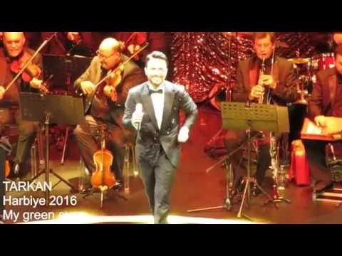 TARKAN... Harbiye 2016 Zeytin gözlüm with English Sub.