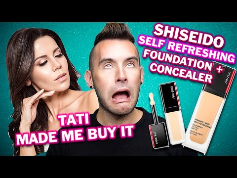 HERE WE GO AGAIN, TATI MADE ME BUY IT! Shiseido Self Refreshing Foundation + Concealer Review thumbnail