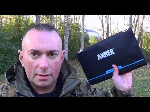 Anker 14W Solar Power Charger...Unlimited POWEEERRR!  - Preparedmind101