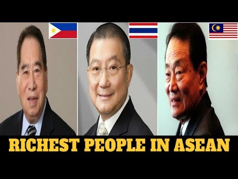 Top 7 Richest People In Southeast Asia (ASEAN) 2018