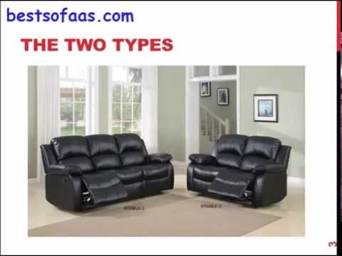 Homelegance Double Reclining Sofa, Black Bonded Leather Review