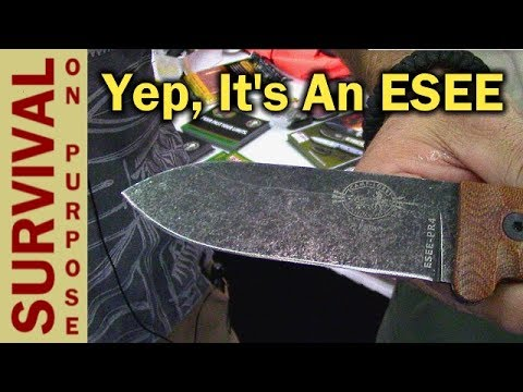 New ESEE Camp-Lore PR4  - Blade Show 2017