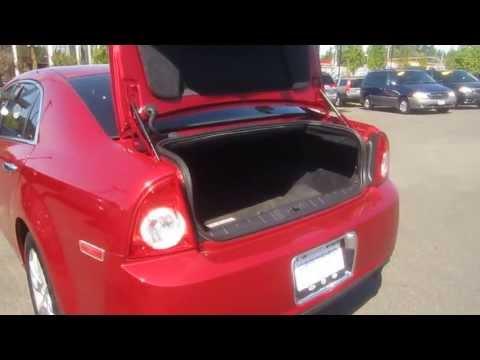 2012 Chevrolet Malibu, Crystal Red - STOCK# 606757 - Trunk