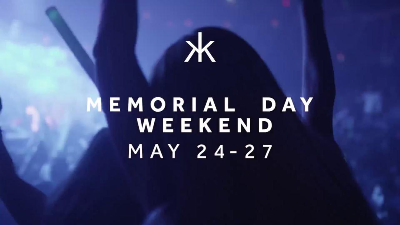 Memorial Day Weekend 2018 - Hakkasan Nightclub in Las Vegas