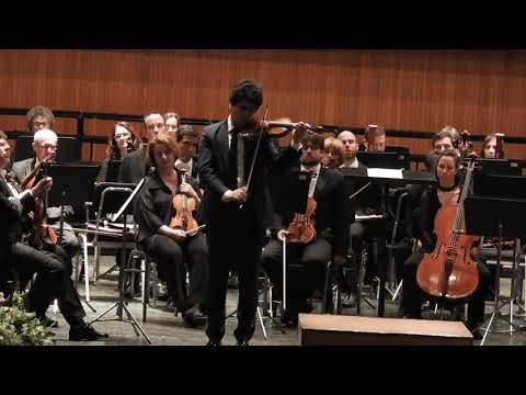 Michael Barenboim- violinist.  Encore after the Concerto of Tchaikovsky with; Israeli Philharmonic