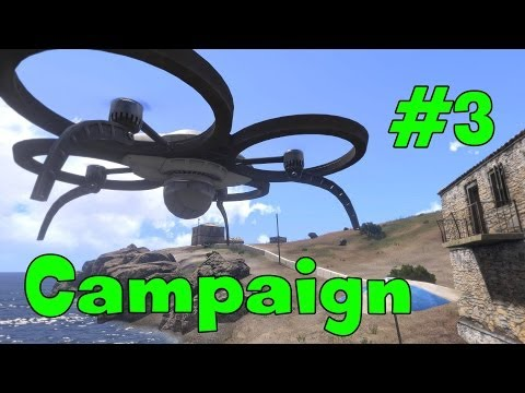 Arma 3 Campaign - Mission Maxwell and Death Valley Walkthrough - (Part 3)