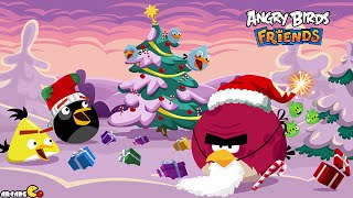 Angry Birds Friends Facebook Holiday Tournament All Level 1-6 Walkthrough 3 Star