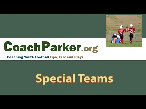 Youth Football Special Teams - Coaching Clinic by Coach Parker
