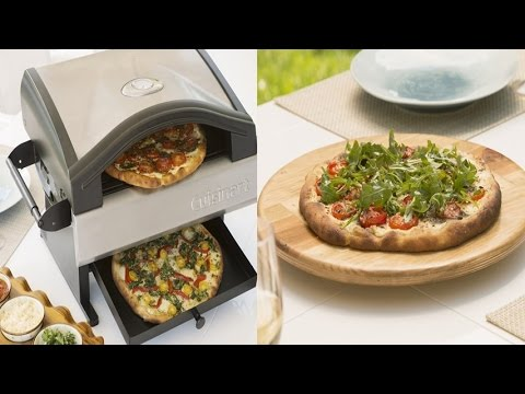 Cuisinart CPO-600 Alfrescamore Portable Outdoor Pizza Oven Stainless Steel