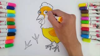 Learn coloring animals for kids - Coloring videos for kids 17