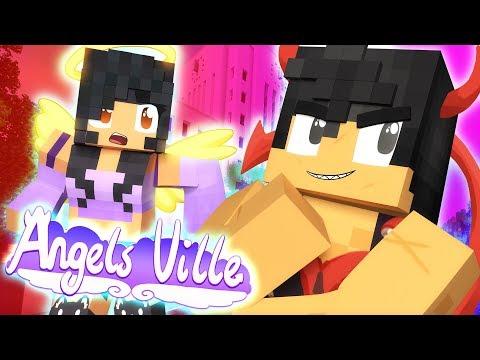 LET ME FLIRT!   Angelsville Minecraft Survival [Ep.2]