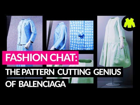 Pattern Cutting + Fashion Chat: The Pattern Cutting Genius Of Cristóbal Balenciaga