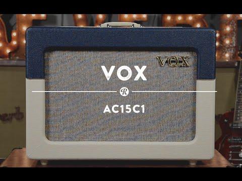 Vox AC15C1 Amplifier | Reverb Demo Video