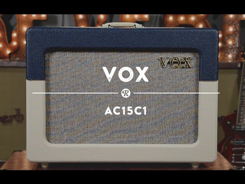 Vox AC15C1 Amplifier | Reverb Demo Video