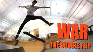 MY WAR: Tre Double Flip with Nick Holt
