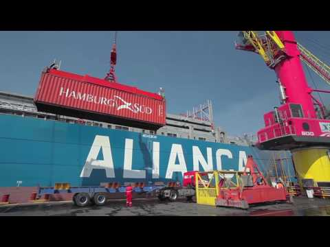 Liebherr - Barge Slewing LBS 600 - Floating Cranes in Manaus, Brazil