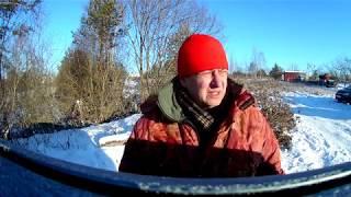 Первый день зимы 2018. Первый мороз. Отчёт о рыбалке. Не интересная рыбалка 2.)))