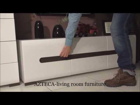 Модульная мебель AZTECA от польской фабрики BRW