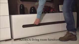Модульная мебель AZTECA от польской фабрики BRW(Спальню или гостиную поможет преобразить великолепная польская мебель Ацтека. Которую Вы можете заказать..., 2016-05-16T18:39:49.000Z)
