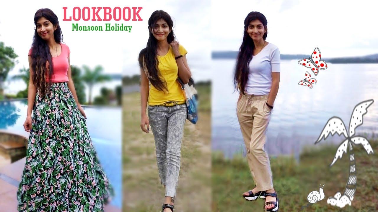 4b49e42353 Indian Youtuber - Monsoon Holiday Lookbook