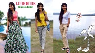Indian Youtuber - Monsoon Holiday Lookbook | Comfortable Clothes