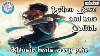 When Love \\u0026 Hate Collide\/\/Music Heals Every Pain \/\/Acoustic Guitar With Lyrics\/\/Muzica De Noventa
