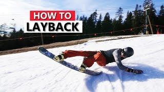 Try This Fun Snowboard Trick! How to Layback