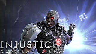 Injustice: Gods Among Us - Cyborg - Classic Battles On Very Hard (No Matches Lost)