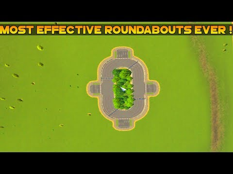 Cities Skylines : Asset Mods [Large-Wide Roundabout (3-Lane)] w/Link + Mod Gameplay   ItsMe Prince