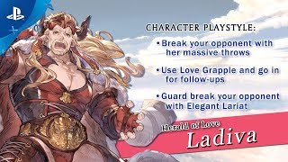 Granblue Fantasy: Versus - Ladiva Character Trailer | PS4