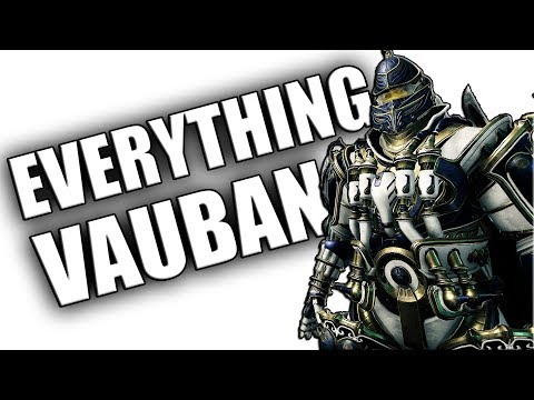 Warframe Review & Build - Everything Vauban