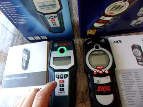 bosch gms 120 vs skil detector 550 vergleich test youtube. Black Bedroom Furniture Sets. Home Design Ideas